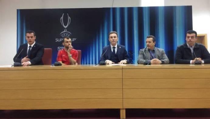 Горан Пандев промовиран во амбасадор на УЕФА Суперкупот
