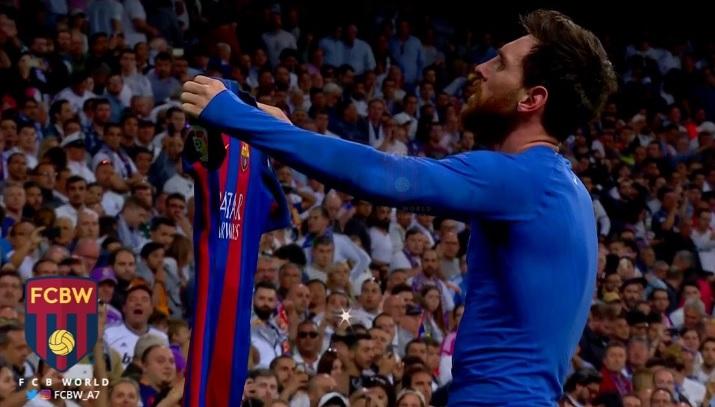 Лудо Ел Класико  Меси ги изгасна светлата на Бернабеу во 92  минута