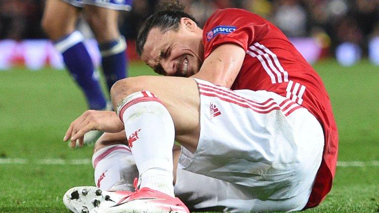 Мурињо  Немам добро чувство за повредата на Ибрахимовиќ