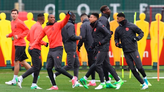 Официјални состави  Манчестер јунајтед   Андерлехт