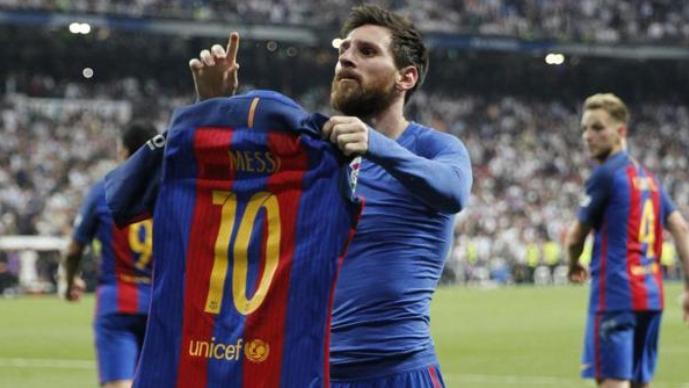 Меси го откри името на единствениот фудбалер на кој му го побарал дресот