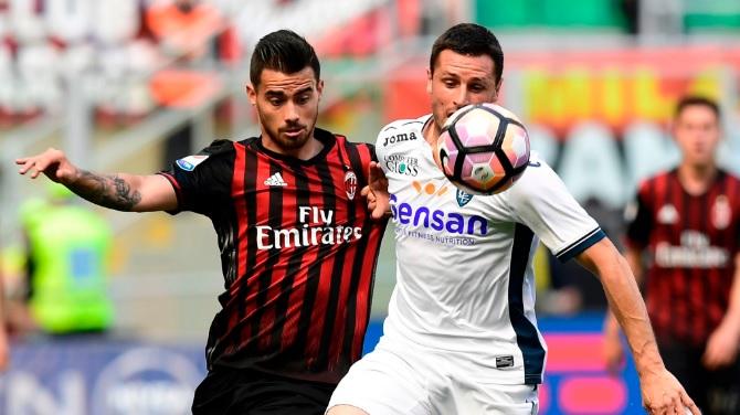 Милан поразен на свој терен од Емполи  Лацио ја наполни мрежата на Палермо