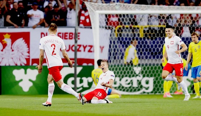 Полска во 90  минута од пенал се спасуваше против Шведска