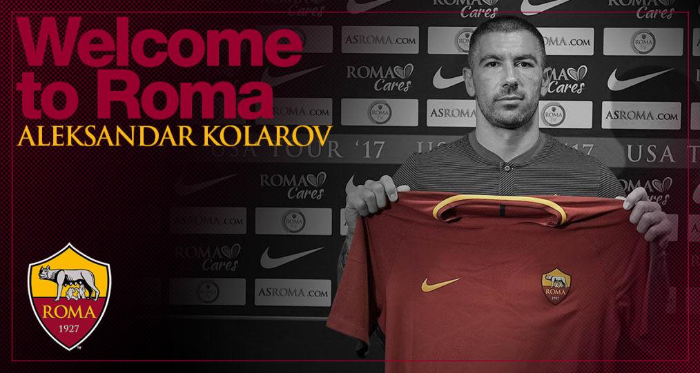 Поранешниот играч на Лацио  Коларов потпиша за Рома