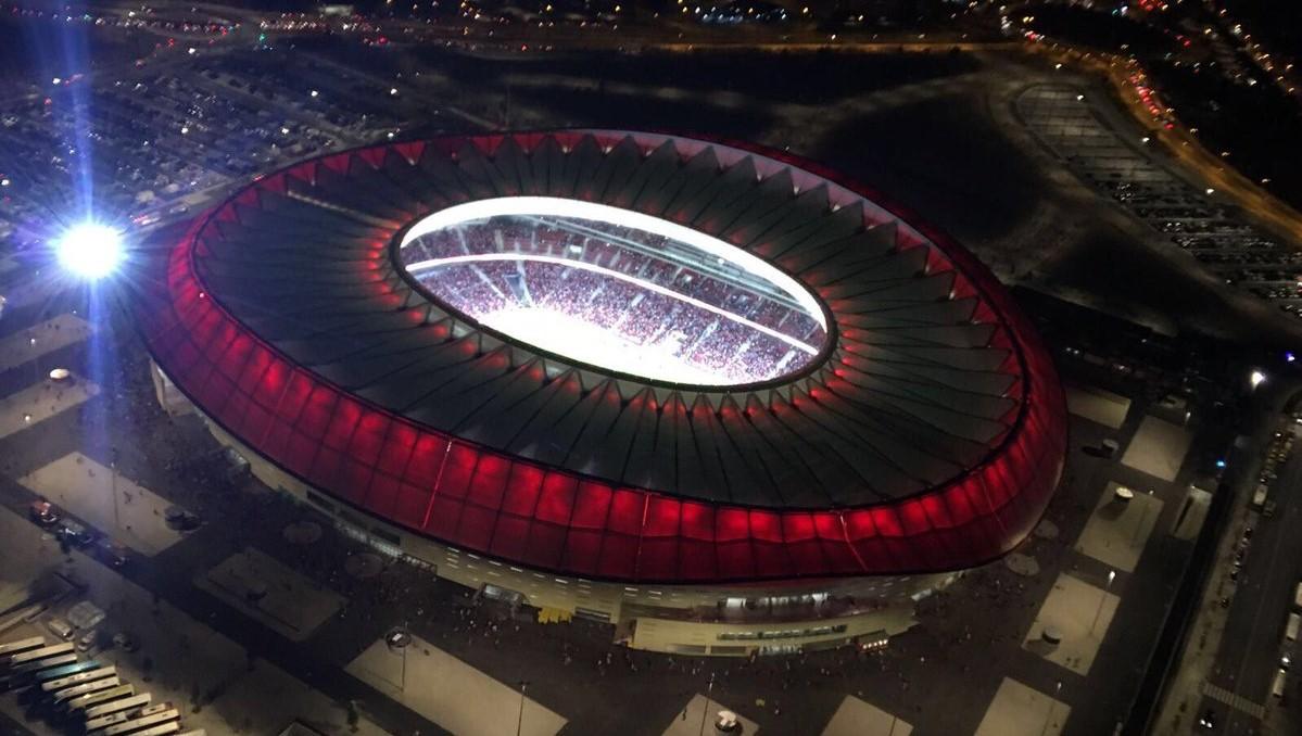 Отварањето на новиот  спектакуларен стадион на Атлетико Мадрид  Ванда Метрополитано