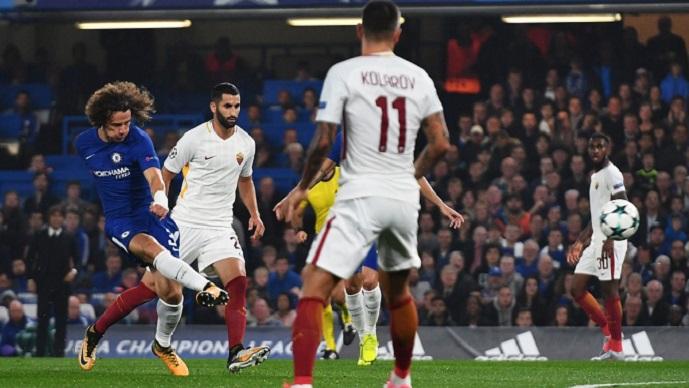 ЛШ  полувреме  Челси води против Рома  Јувентус по потешкиот пат против Спортинг Лисабон