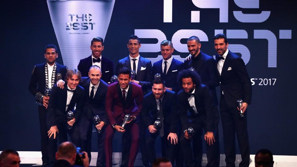 Реал Мадрид доминира во најдобриот тим на годината