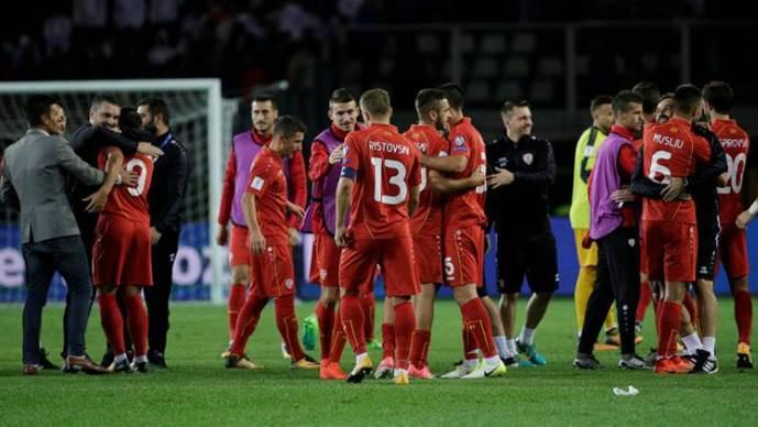 Македонија дел од репрезентациите кои го одбележаа ФИФА ранкингот во октомври  Црвено жолтите скокнаа 18 позиции