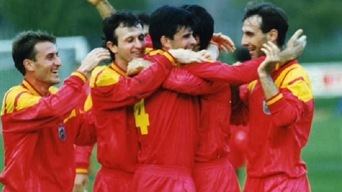 На денешен ден ја учевме Словенија како се игра фудбал