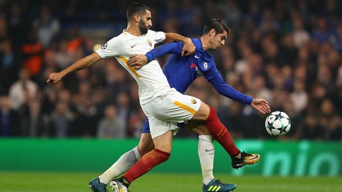 ЛШ  Голеада во Лондон  Рома ремизираше кај Челси  Јувентус едвај до победа над Спортинг Лисабон