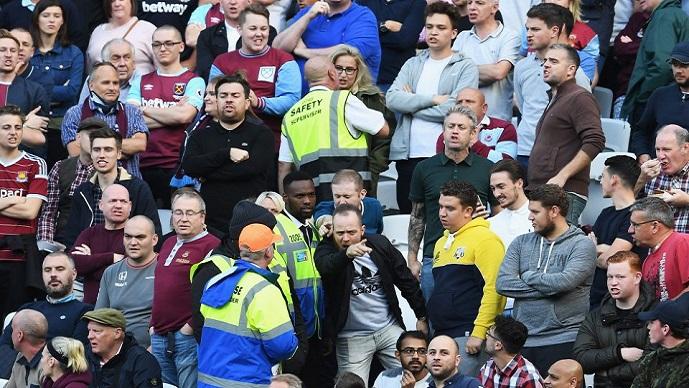По најновиот пораз на Вест Хем  фановите на овој тим се јавувале во полиција  Што да правиме