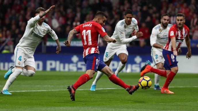 Атлетико и Реал одиграа за Барса  многу борба на Ванда Метрополитано и ниту еден гол