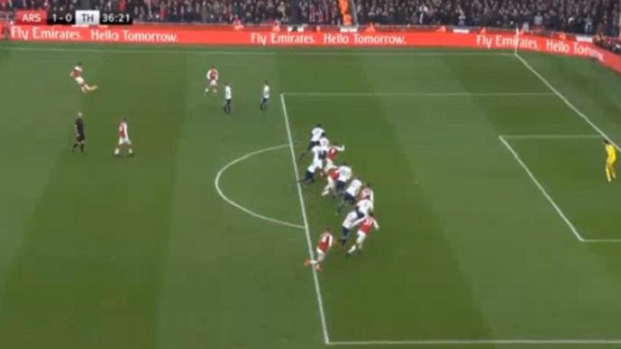 Мустафи со гол од офсајд донесе водство за Арсенал  Санчез го докрајчи Тотенхем