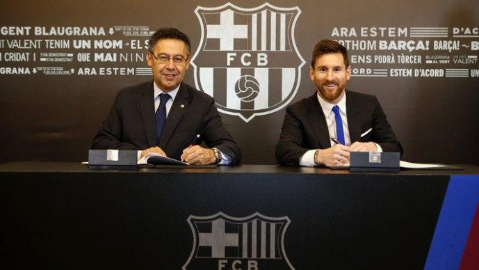Фудбал Ликс открива  Меси има годишна бруто плата од преку 100 милиони евра