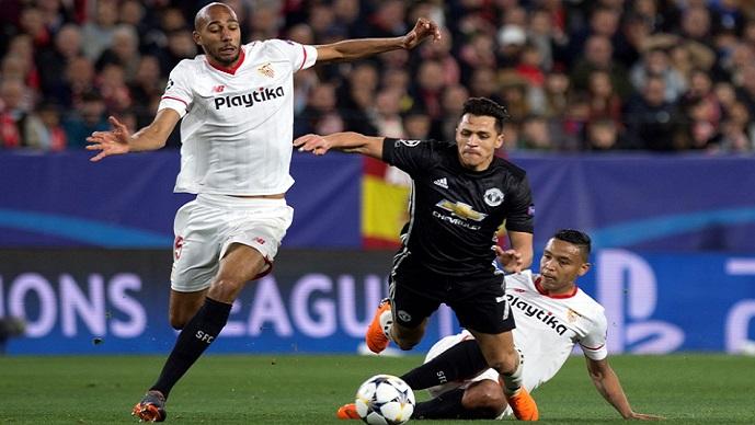 Манчестер јунајтед извлече реми од тешкото гостување кај Севиља  Шахтјор со пресврт до победа над Рома