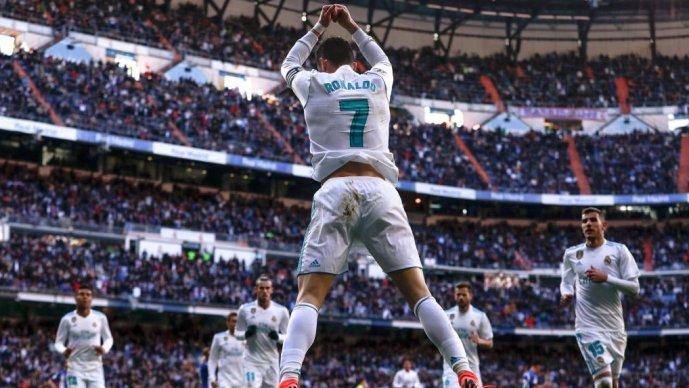 Роналдо стигна до бројката 300 погодоци во Ла Лига на 49 натпревари побрзо од Лео Меси