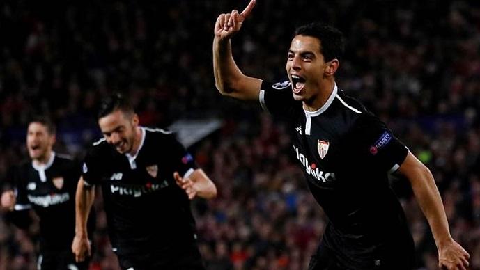 Херојот на Севиља имаше посебна реакција откако го елиминираше Манчестер јунајтед